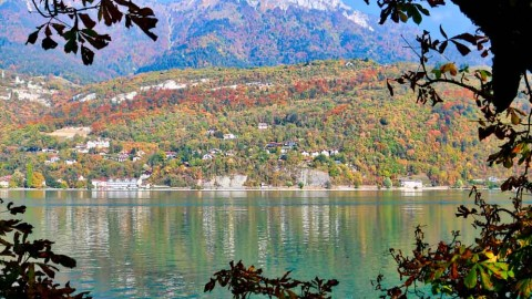 Tour du lac d'Annecy, octobre 2018