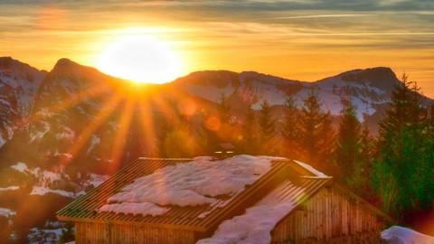 Manigod, Haute-Savoie, février 2019