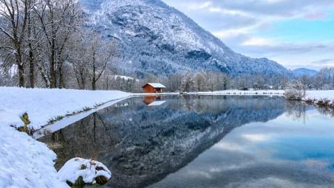 Lac de Flérier, Taninges, décembre 2017