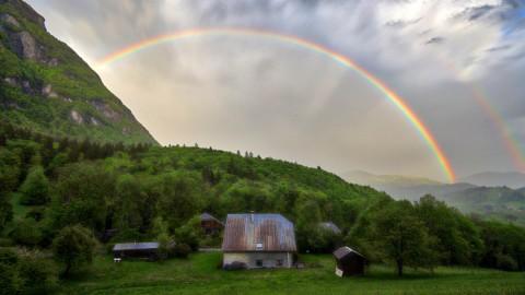 Après la pluie, Taninges, mai 2020