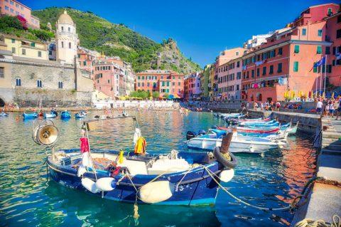 Vernazza, les Cinque Terre, Italie, Août 2020