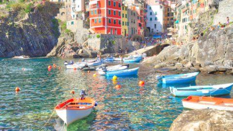 Riomagiore, les Cinque Terre, Italie, Août 2020