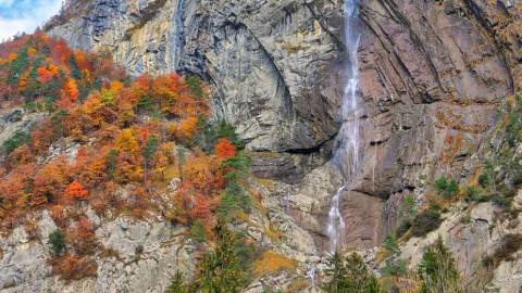 Cascade de l'Arpenaz, Sallanches, novembre 2018