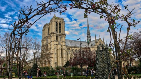 De Notre Dame au jardin du Luxembourg, Paris, avril 2016