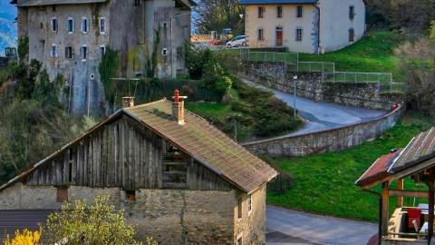 Châtillon-sur-Cluses, avril 2018