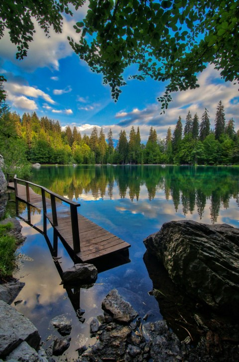 Lac Vert, Passy, juillet 2018