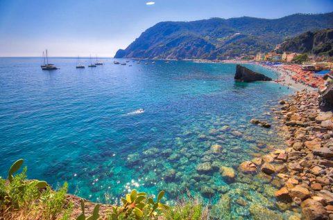 Monterosso, Les Cinque Terre, Italie, Août 2020