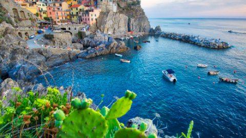 Manarola, Les Cinque Terre, Italie, Août 2020