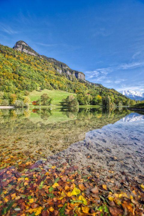 Lac des Ilettes, Sallanches, octobre 2020