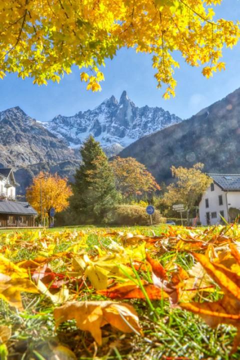 Le Pic des Drus, Chamonix, octobre 2020