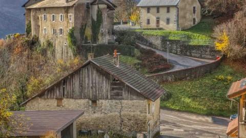 Châtillon-sur-Cluses, novembre 2020