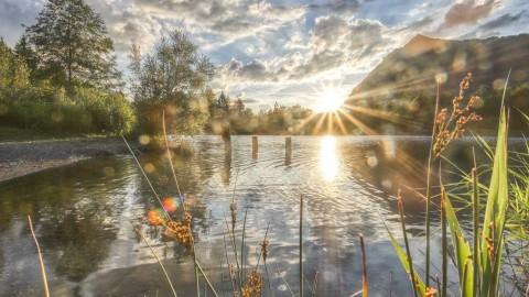 Lac Crystal, Taninges, Juillet 2021