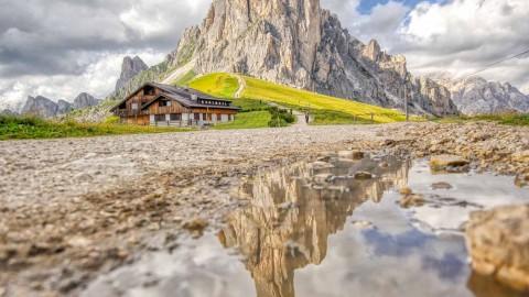 Passo Giau, Les Dolomites, Italie, août 2021