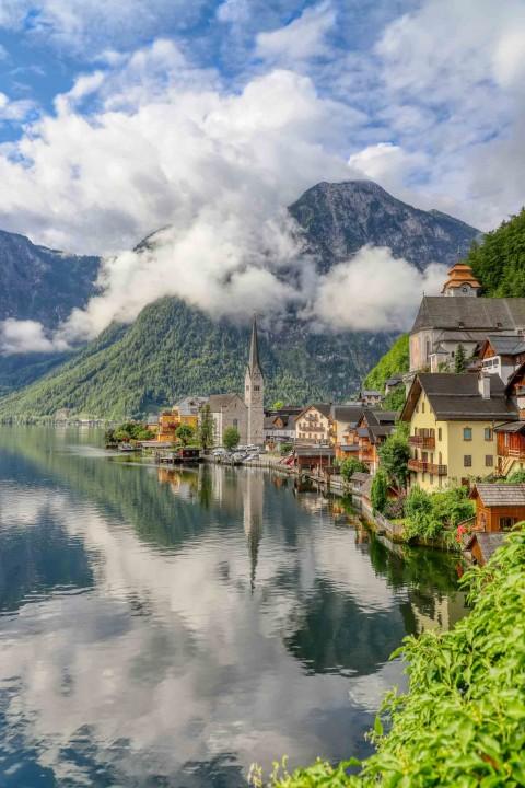 Hallstatt, Autriche, Août 2021