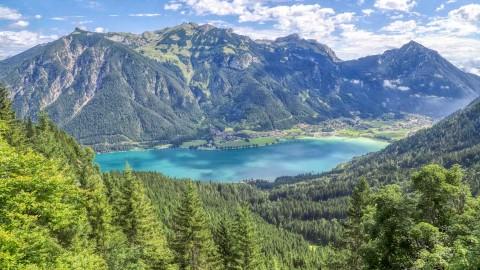 Lac Achensee, Autriche, août 2021