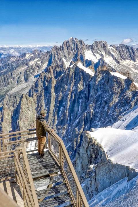 Aiguille du Midi, Chamonix, août 2021
